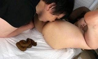 Unsuspecting Boyfriend Covered In Feces