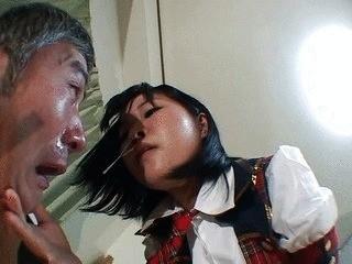 Kinky Schoolgirl Punishes Old Professor – Part 1