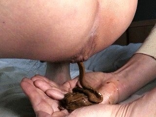 Nasty Daddy Smears Shit On Mommy – Part 2