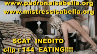 Kv Eating A Lot Of Poo By Mistress Isabella