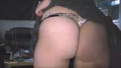 Polka Dot Dirty Thong Dance Poop