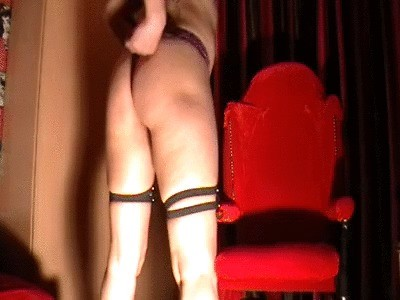 Romanian Mistress Anita – Diarrhea In Panty And Blue High High-heeled slippers