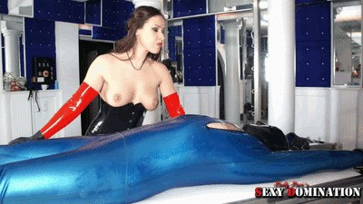 Rubber Scat Slave Of Lady Luci