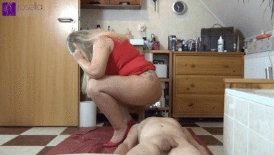 Extreme Shitting In The Slave's Mouth