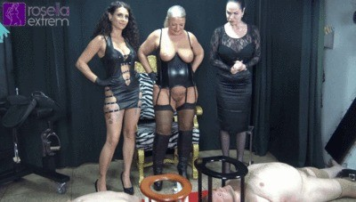 3 Dominas Kaviar And Piss 2 Toilet Slaves In The Mouth Part 1
