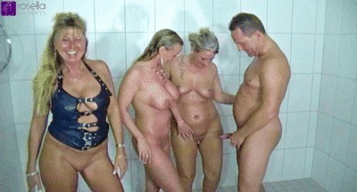 Mega Piss Orgy With 4 Girls And 6 Men