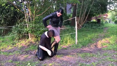 Slave Clothes Refined By The Riding Mistress