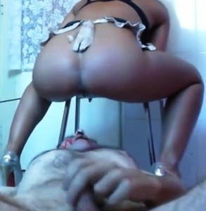 Scat Goddess Scat Feeding With Swallowing