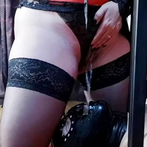 Mistress Luna Drenched Her Toilet In Piss