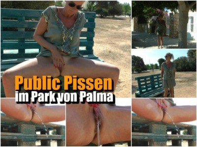 Public Pissing In The Park Of Palma