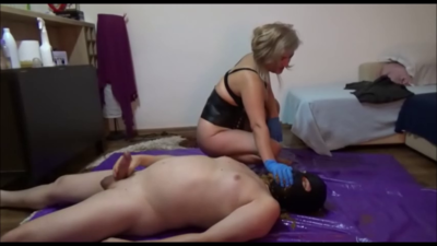 CBT Face Sitting And Shit Feeding With Mistress Victoria