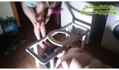 Lesbian Toilet 3 – Chanelle's Suffering