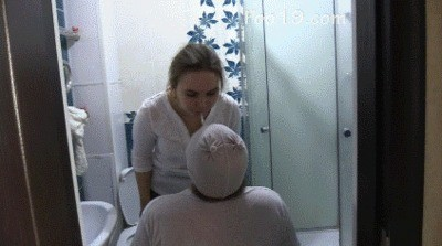 Girls Hid From The Toilet Slave