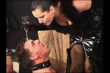 German Mistress Have Fun With Slave