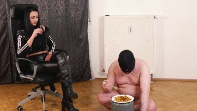 Full Toilet Slave Training 05
