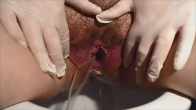 Hairy Close-up Piss
