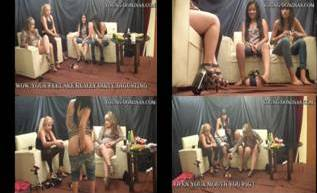 Princess April Very first Time And Slave In Floor Integrated Part 1