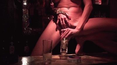 Sexy Barkeeper Serving Piss