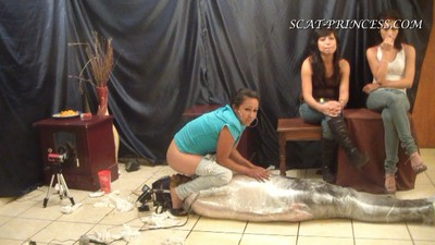 The Feeding And Packing Of A Toilet Slave Part 8 Sofia