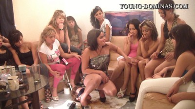14 Ladies And A Floor Level Toilet Slave Part 8