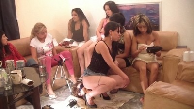14 Damsels And A Floor Level Toilet Slave Part 14