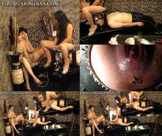 3 Girls On The Shit Bench Part 10