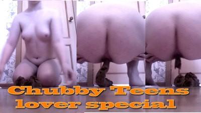 Chubby Girls Shitting