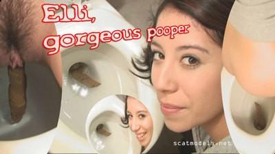 Fantastic Elli Pooping