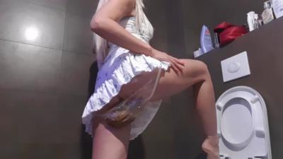 Sensual Dress Plastic Panties