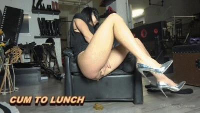 Mistress Gaia – Cum For Lunch