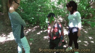 With Scatqueen Lady Lucy In The Wood Part 1
