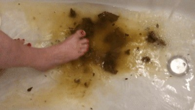 Poop In The Bathtub